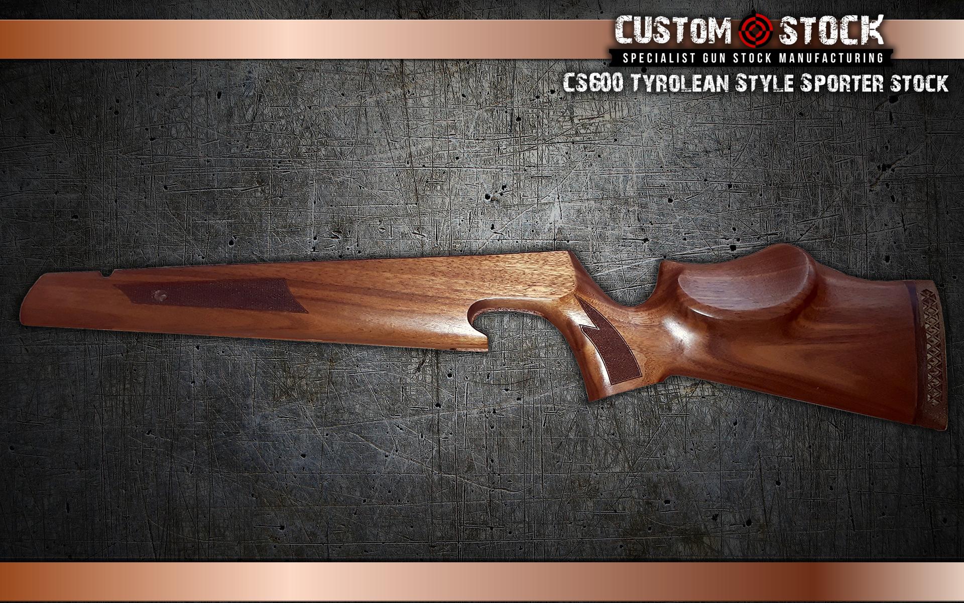 CS6 Tyrolean Style Sporter stock – Custom Stock LTD